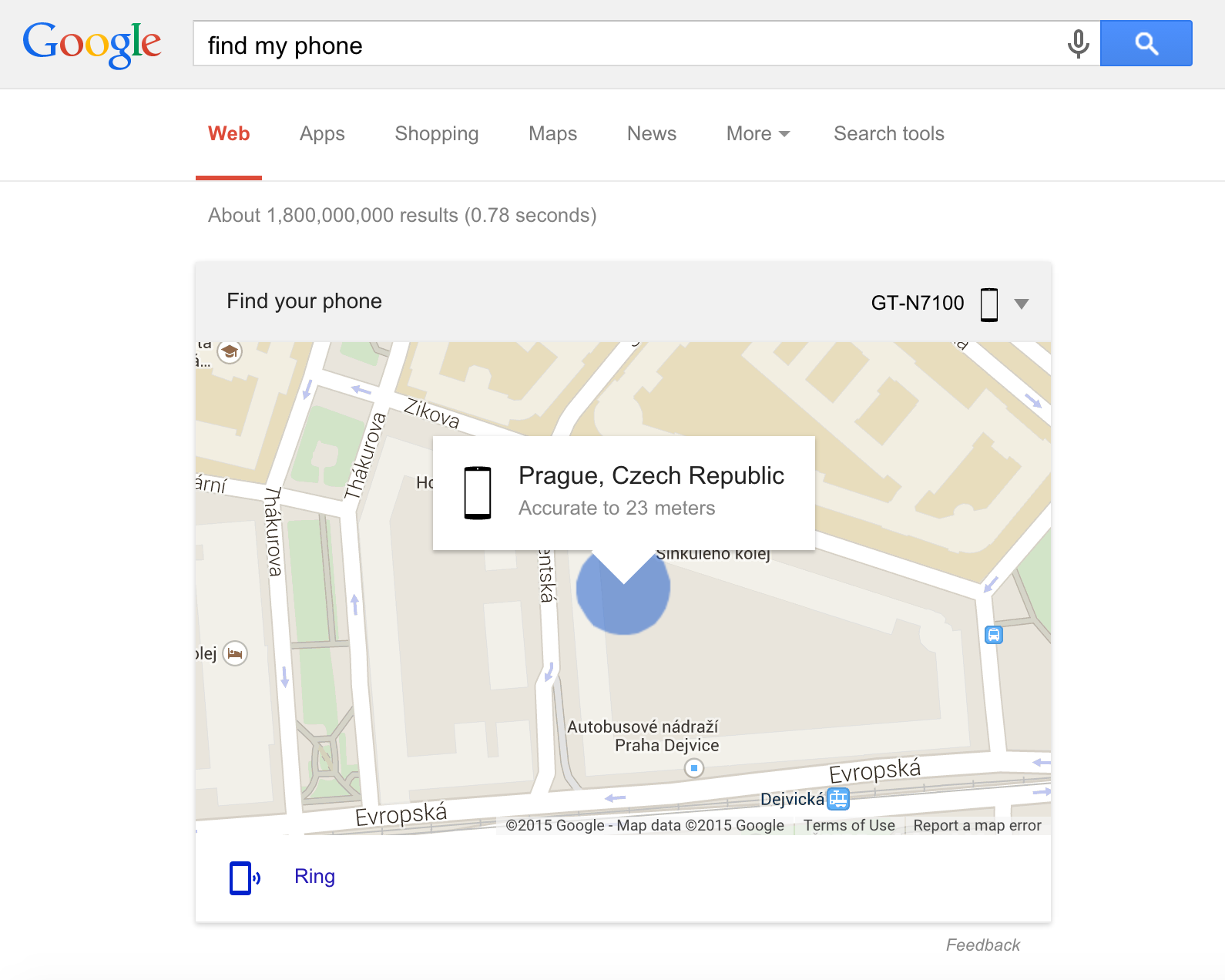 findmyphone google